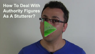 Stuttering Help - How To Deal With Authority Figures